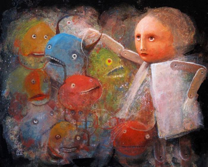 Корпорация монстров. Автор: Krzysztof Iwin.