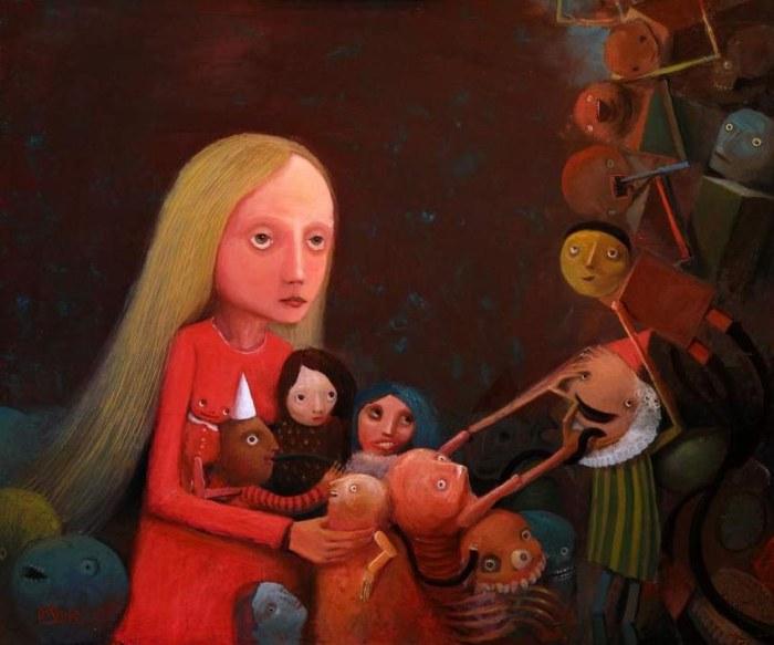 Производство кукол. Автор: Krzysztof Iwin.