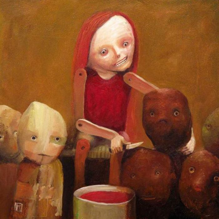 На кухне. Автор: Krzysztof Iwin.