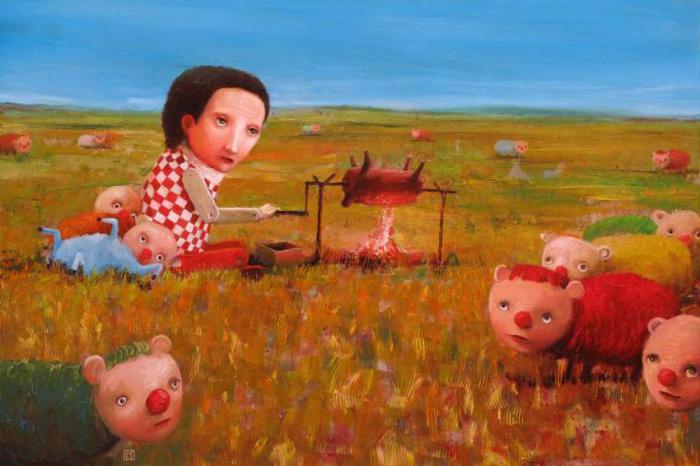 Добрый пастух. Автор: Krzysztof Iwin.