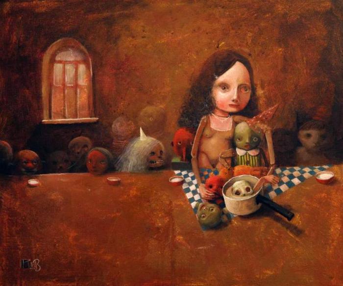 Столовая. Автор: Krzysztof Iwin.
