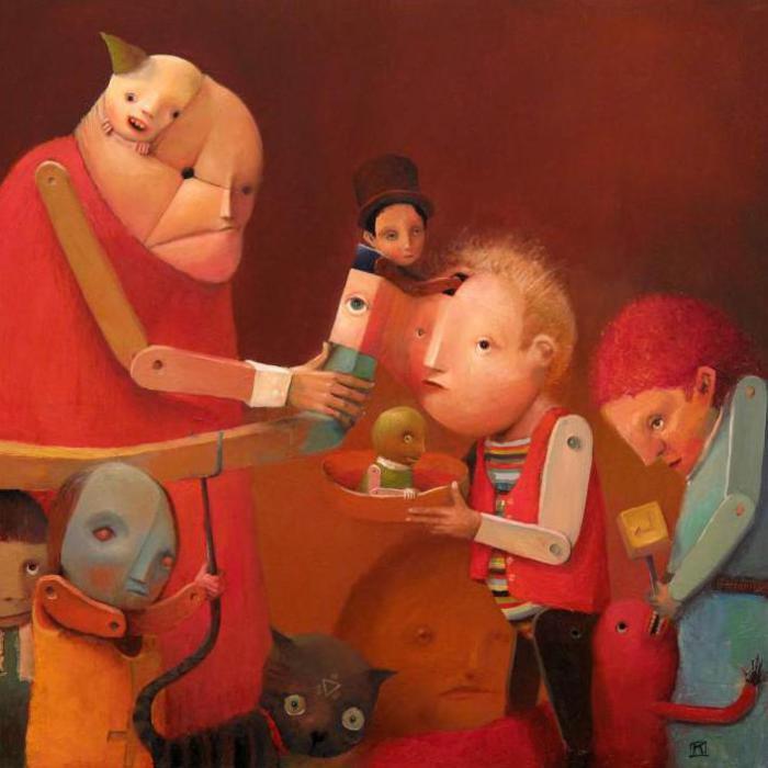 Кукольная фабрика. Автор: Krzysztof Iwin.