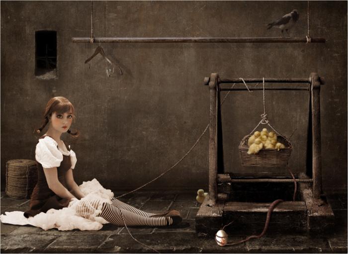 Кукла. Автор работ: Лариса Кулик (Kulik Larissa).