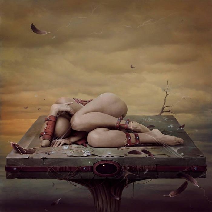 Птица. Автор работ: Лариса Кулик (Kulik Larissa).