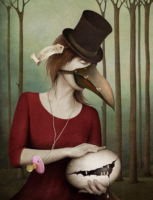 Необычные образы в работах  Ларисы Кулик (Kulik Larissa).