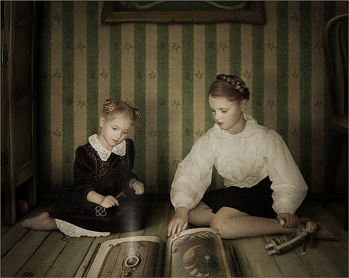 Автор работ: Лариса Кулик (Kulik Larissa).