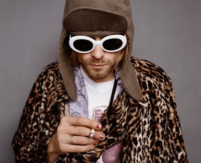 Портреты Курта Кобейна из последней фотосессии (Kurt Cobain). Автор фото: Джесси Фроман (Jesse Frohman).