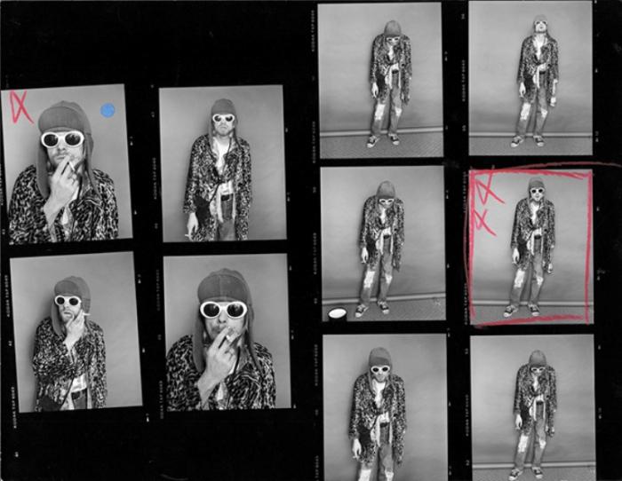 Портреты Курта Кобейна из последней фотосессии (Kurt Cobai. Автор фото: Джесси Фроман (Jesse Frohman).