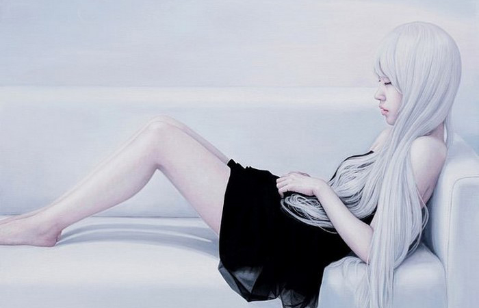 Мечтательница. Автор: Kwon Kyung-yup.