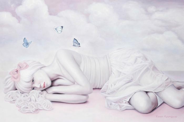 Бабочки. Автор: Kwon Kyung-yup.