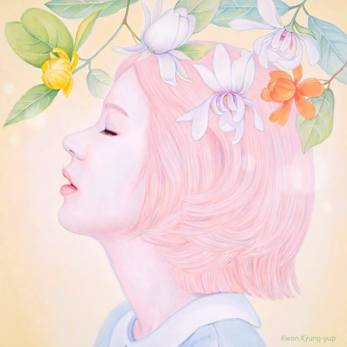 Весна. Автор: Kwon Kyung-yup.