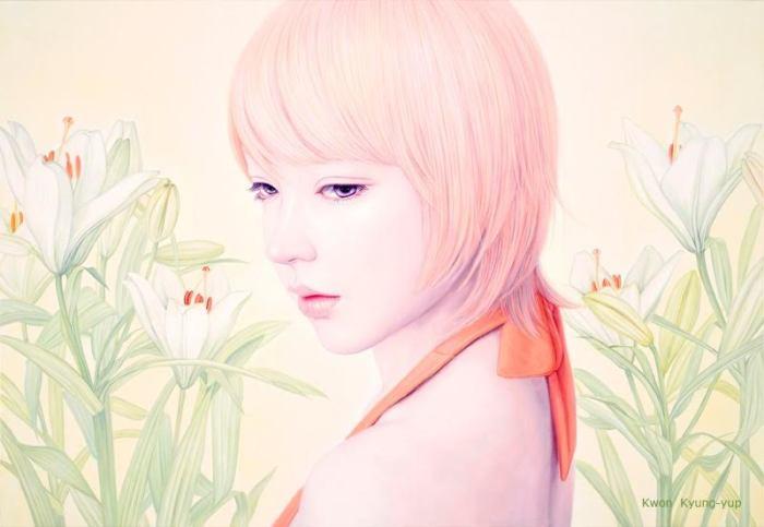 Цветы. Автор: Kwon Kyung-yup.