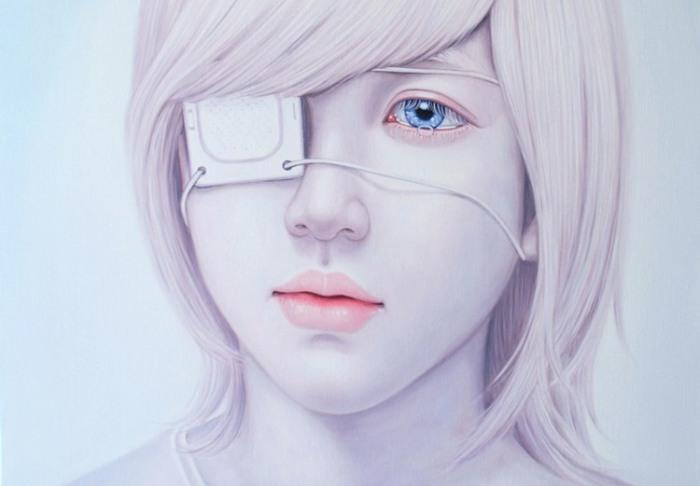 Болезненно-душевное состояние в работах Квон Кён Ю (Kwon Kyung Yup).