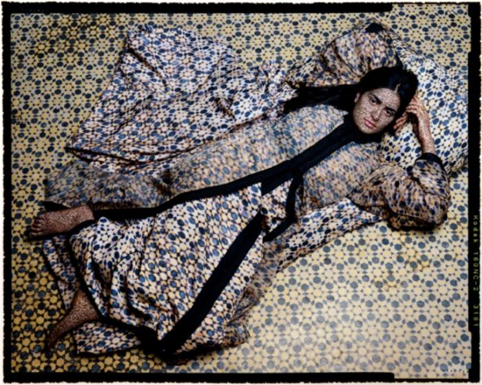 Потрясающие картины марокканской художницы Лалы Эссаиди (Lalla Essaydi).