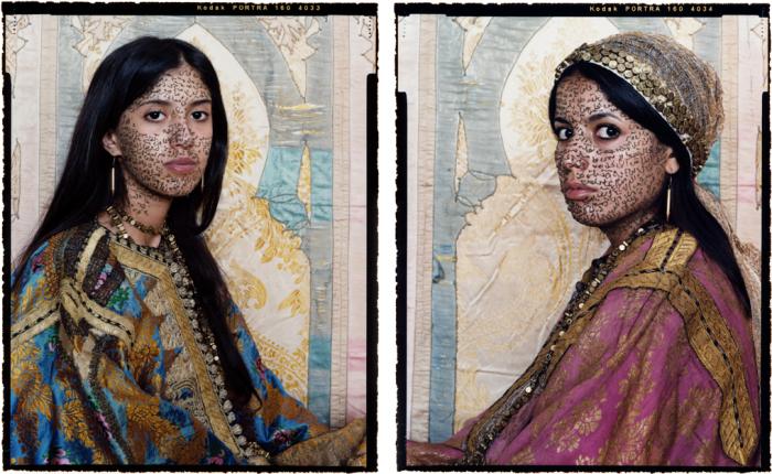 Восток - дело тонкое. Автор работ: марокканская художница Лала Эссаиди (Lalla Essaydi).