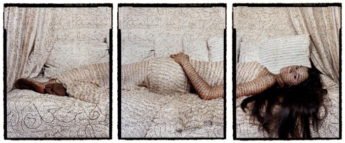 Впечатляющие работы марокканской художницы Лалы Эссаиди (Lalla Essaydi).