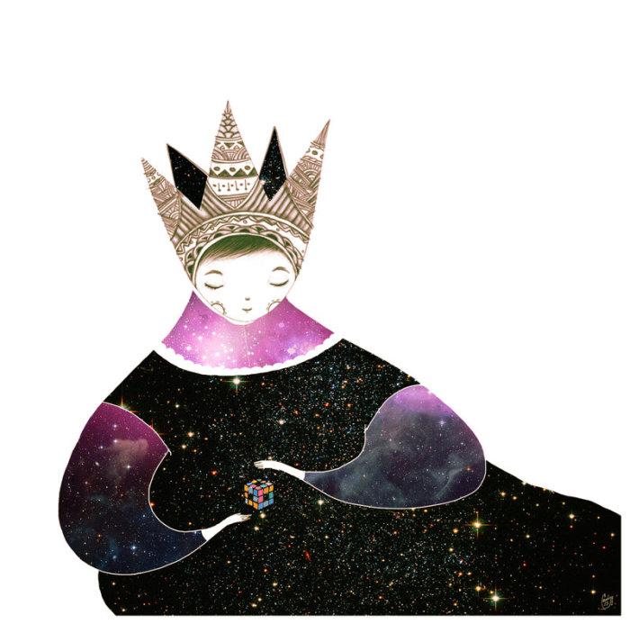Let's Dream Again (Давай снова мечтать). Автор работ: художница Лана Тополь (Chemical Sister).