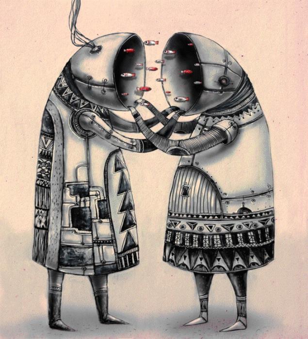 Sea*Я+You (Сияю). Автор работ: художница Лана Тополь (Chemical Sister).