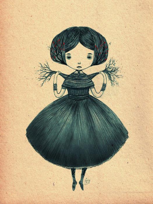 Ayre (Айре). Автор работ: художница Лана Тополь (Chemical Sister).