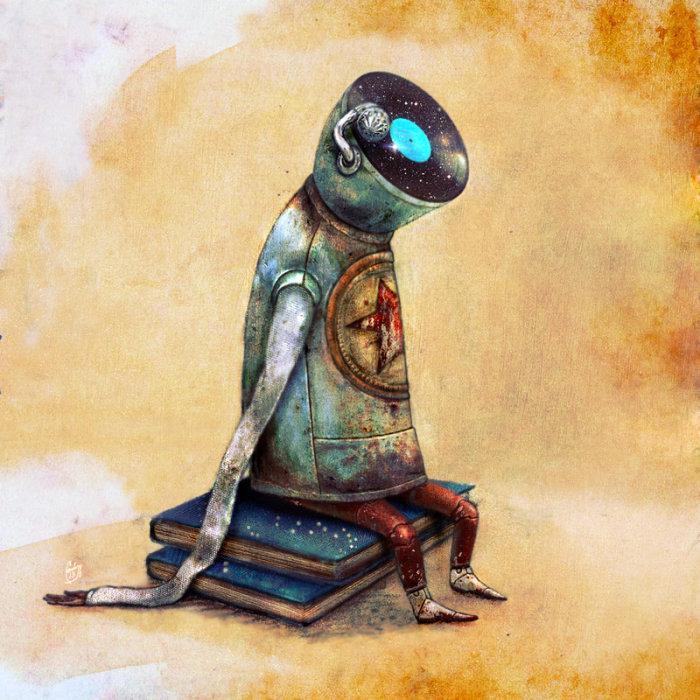 Stargazer (Мечтатель). Автор работ: художница Лана Тополь (Chemical Sister).