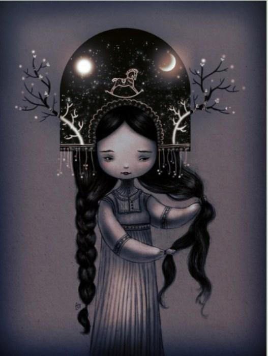 Мои Мысли,Мои Скакуны. Автор работ: художница Лана Тополь (Chemical Sister).