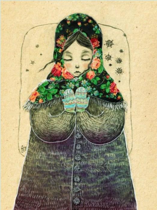 Людмила Осиповна. Автор работ: художница Лана Тополь (Chemical Sister).