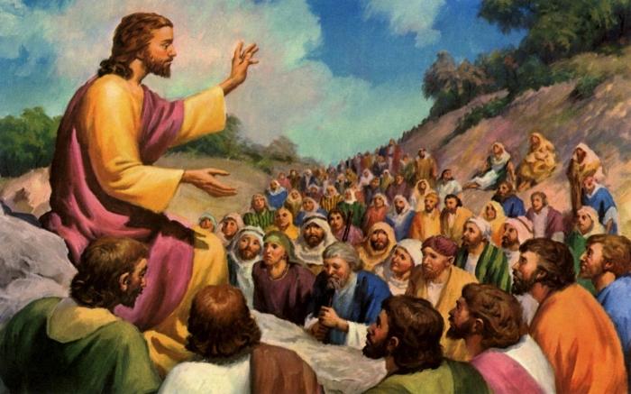 В то время Иисус сказал своим ученикам: «Вы не можете судить Бога и Его богатства». \ Фото: salimbasarda.net.