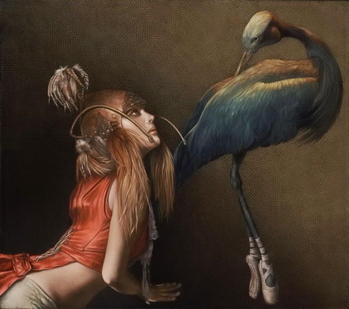 Уроки балета. Автор: Лариса Морейс.