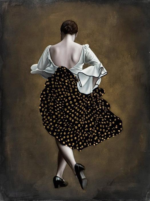 В ритме танца. Автор: Лариса Морейс.