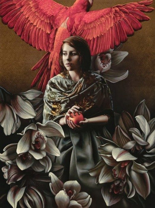 Птица. Автор: Лариса Морейс.