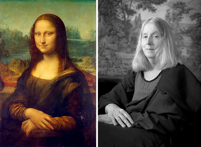 Мона Лиза — Леонардо да Винчи. Автор: Laura Hofstadter.