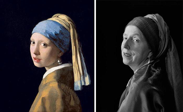 Девушка с жемчужной серёжкой — Ян Вермеер. Автор: Laura Hofstadter.