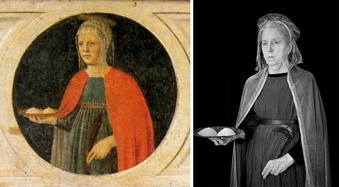 Св. Агата — Пьеро делла Франческа. Автор: Laura Hofstadter.