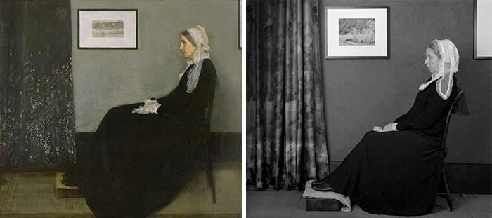 Мать Уистлера — Джеймс Эббот Мак-Нейл Уистлер. Автор: Laura Hofstadter.