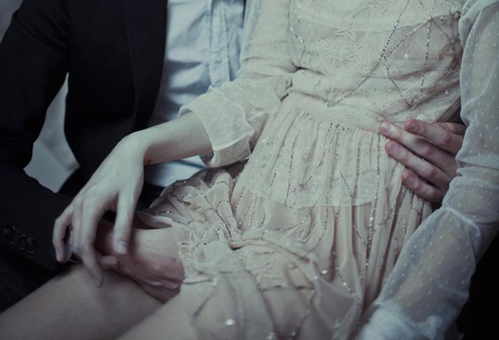 Чувственная пара. Автор фото: Лаура Макабреску (Laura Makabresku).