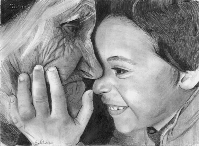 Бабушка. Автор: Laura Muolo.