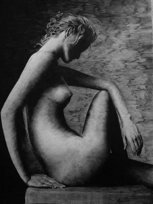 Красота женского тела. Автор: Laura Muolo.