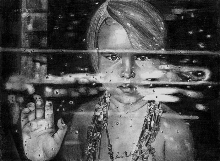 Дождевые капли. Автор: Laura Muolo.
