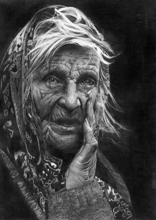 Портрет женщины. Автор: Laura Muolo.