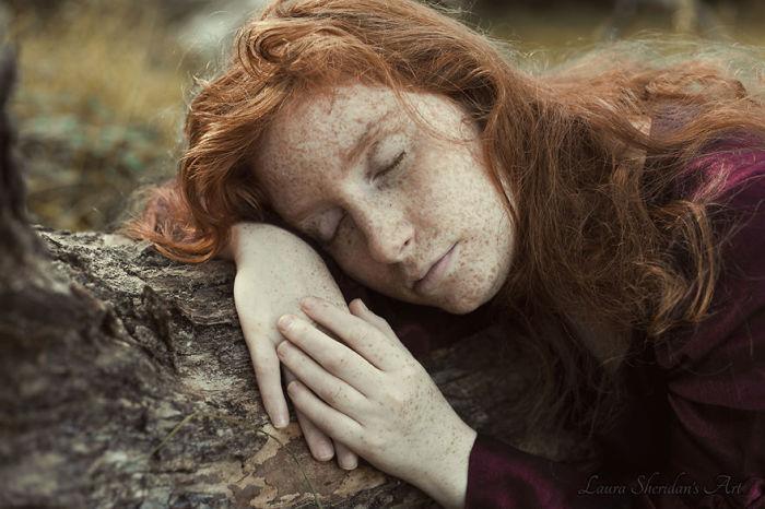 Спящая красавица. Фото Laura Sheridan.