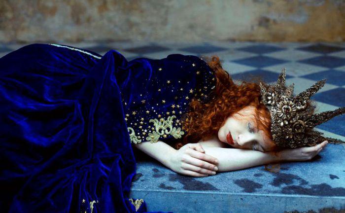 Астра. Сон шахматной королевы. Фото Laura Sheridan.