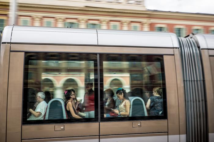 «Дневной трамвай, Ницца Франция», 2017 год. Автор: Laurent Guerin.