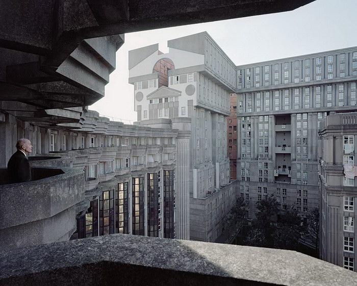 Забытые жилые комплексы Парижа в фотографиях Лорена Кроненталь (Laurent Kronental).