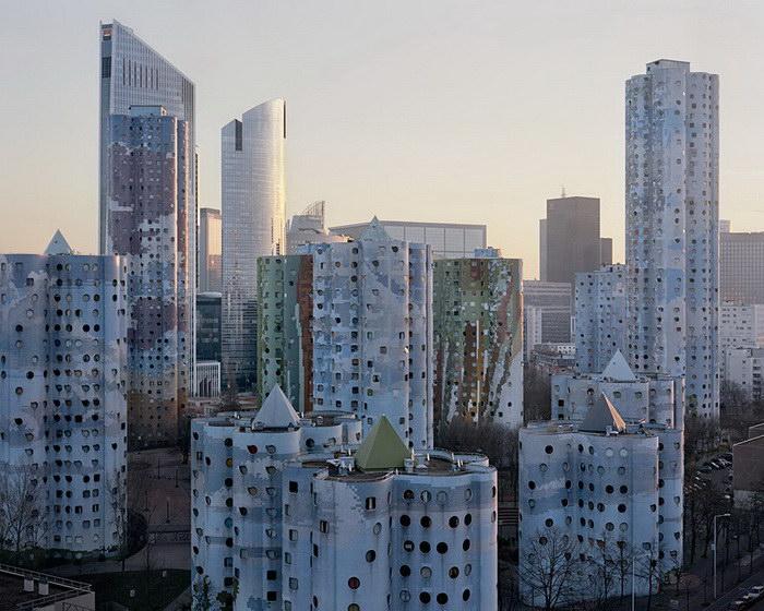 Обратная сторона Парижа в фотографиях Лорена Кроненталь (Laurent Kronental).