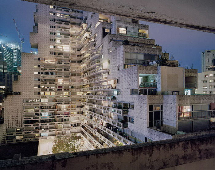 Жилые комплексы Парижа в фотографиях Лорена Кроненталь (Laurent Kronental).
