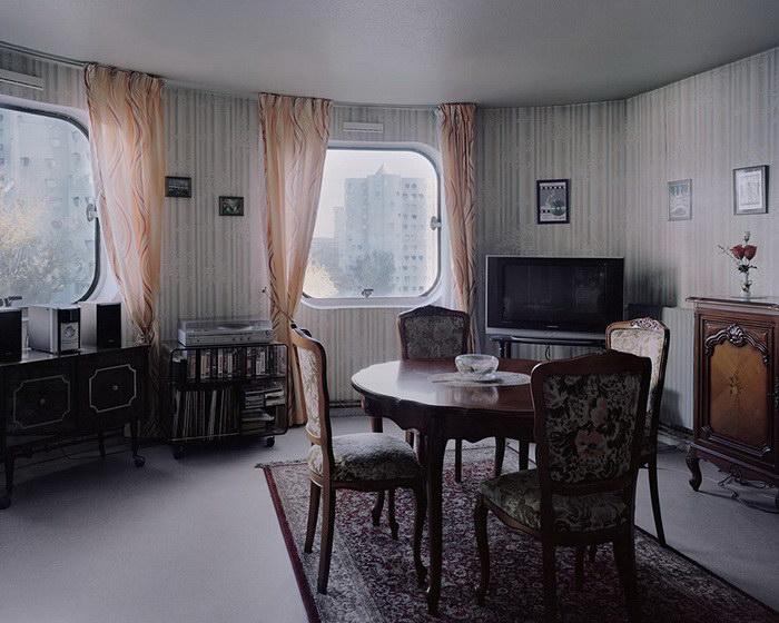 Назад в прошлое. Жилые комплексы Парижа в фотографиях Лорена Кроненталь (Laurent Kronental).