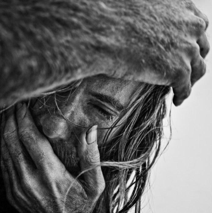 Портрет Энди.  Автор работ: фотограф Ли Джеффрис (Lee Jeffries).