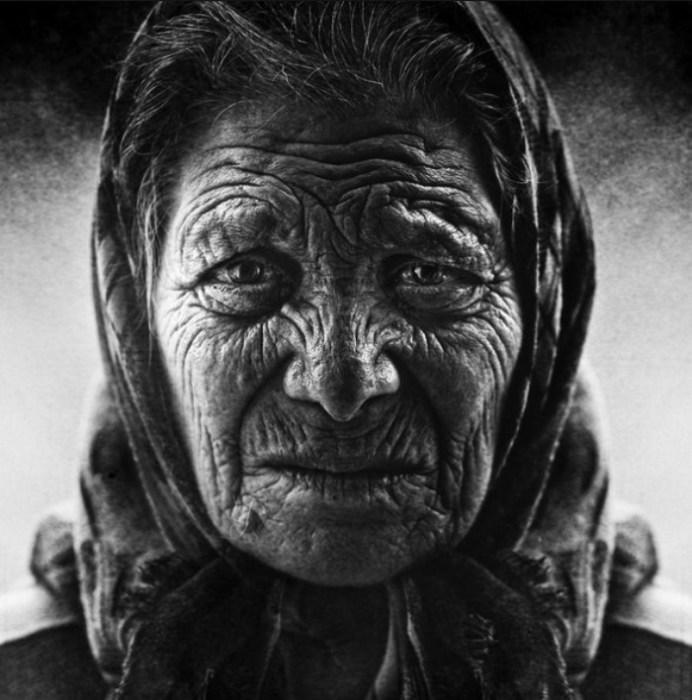 Черно-белая жизнь. Автор работ: фотограф Ли Джеффрис (Lee Jeffries).