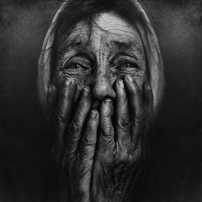 Бездомные - тоже люди. Автор работ: фотограф Ли Джеффрис (Lee Jeffries).