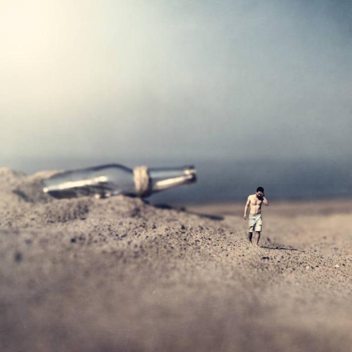 Послание в бутылке, или остров забытых людей и кораблей. Автор: Leigh Eros.